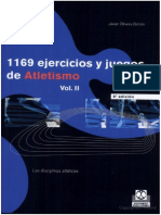 1169 Ejercicios y Juegos de Atletismo