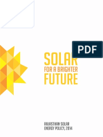 Solar Policy and FAQs 2014