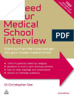 Succeed in Your Medical School Interview - See, Christopher [SRG]