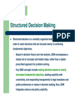 10 Structured Decision Making (PrOACT+) [Compatibility Mode]