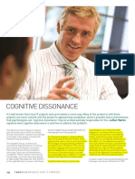 16 Cognitive Dissonance in Software PM