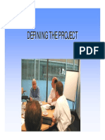 3 Defining the Project