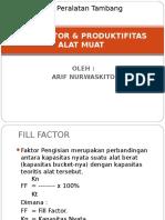 7-8_FILL FACTOR & Produktifitas Alat Muat