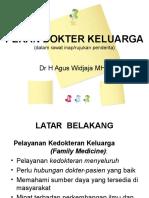 Peran Partisipatif Dokter Keluarga