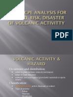 Volcanic Hazard, Risk, Disaster