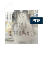 How to Do Things, ADP Pledge Project