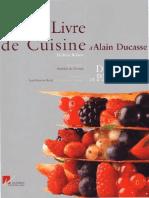 Alain Ducasse Desserts Et Patisserie