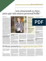 Entrevista Ami Bondía- El Economista
