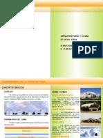 Resumen Arquitectura y Climas de Serra