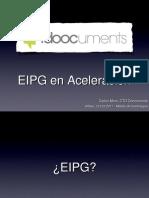 EIPG en Aceleracion