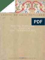 Portul Popular Al Sasilor Din Transilvania