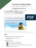 Guía no−Oficial de Ubuntu Linux