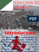 Historia de los puertos en el peru