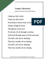 Yogananda Affirmations