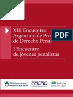XIII Encuentro Argentino Profesores Derecho Penal