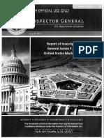 Inspector General report