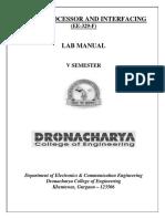 Microprocessor Lab Vthsem Ece