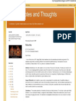 Muhurtha Jyotish Notes and Thoughts