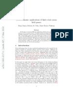 Socio-economic Applications of Finite State Mean Games 1403.4217v1