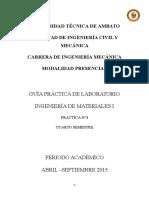 Informe de Análisis Metalográfico de Aceros Aleados