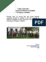 Dissertations 2015 Cartagena