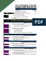 Delegate Calculator(Excel 2003)