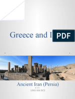 Greece and Iran-Persia