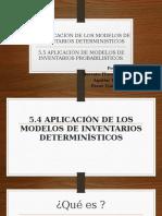 Expo Gestion de Produccion 5.4, 5.5