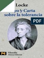 Carta Sobre La Tolerancia