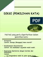 Diksi_DIKSI (PEMILIHAN KATA).ppt