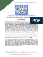 Oviedo Convencion ONU Discapacidad