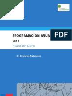 4º Básico - Programación Anual - Ciencias Naturales