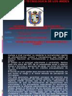 TRABAJO MONOGRAFICO ADQUISICIONES Y CONTRATACIONES DEL ESTADO.ppt