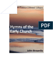 Hymns of the Early Church (John Brownlie)