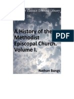 A History of the Methodist Episcopal Church Volume I (Nathan D.D.bangs)