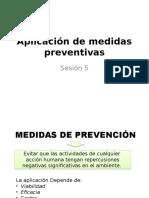 Sesion 5. Aplicacion de Medidas Preventivas (1)