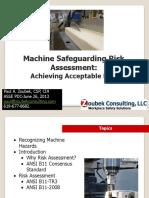 Machine Guarding Risk Assessment