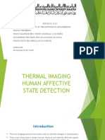 Thermal Imaging Human Affective State Detection slide