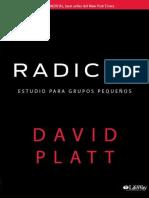 Radical_ Estudio Para Grupos Pe - David Platt