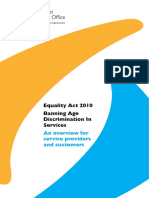 Age Discrimination Ban