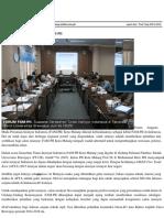 Fakultas Teknik FT UB Siap Mendukung Aktifitas FAM PII
