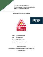 RANCANG BANGUN Sistem Informasi Akademik SMAN 1 Driyorejo 3