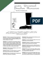 Declaración Universal de Los Derechos Humanos en Lenguaje Sencillo