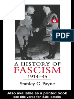 A History of Fascism 1914-45 - Stanley G. Payne