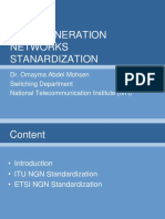 NGN Standardization LMS
