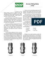Access Fittings (Tee)