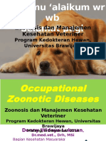 (Drh Denny)Occupational Zoonotic Diseases (1)