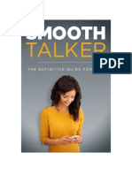 Smooth Talker the Definitive Guide for Men