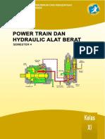 Power Train Dan Hydraulic Alat Berat Xi 4