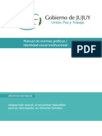 Manual Identidad Visual Gobierno de Jujuy